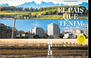 Portada diari ARA especial paisatge